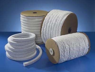 High Temperature Ropes And Braids For Industrial Furnaces
