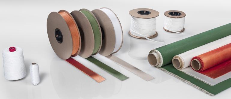 Refrasil - Silica Cloth, Silica Curtain, welding cloth, welding blanket