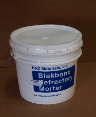High temp refractory mortar