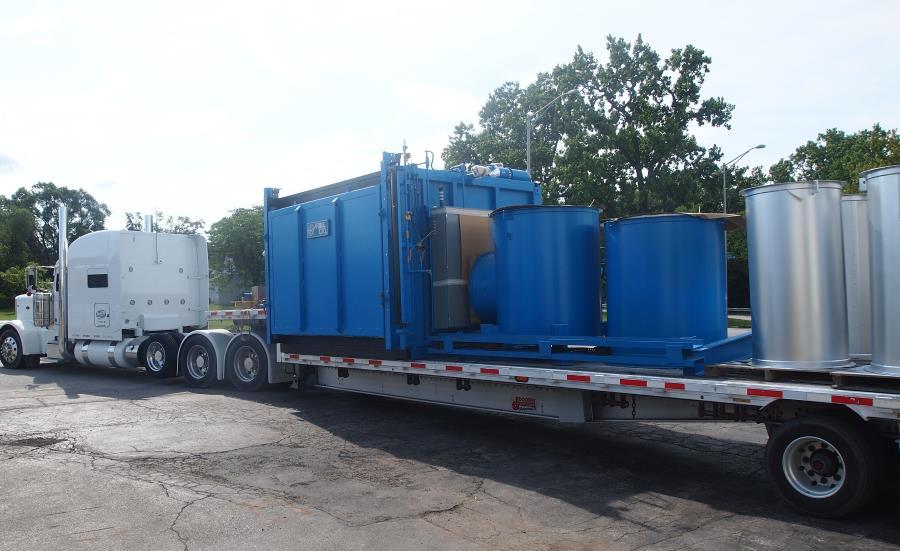 natural gas fired Tru-Heat box furnaces